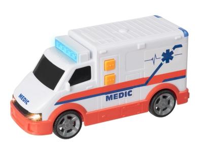 Auto sanitka se světelnými a zvukovými efekty 16 cm