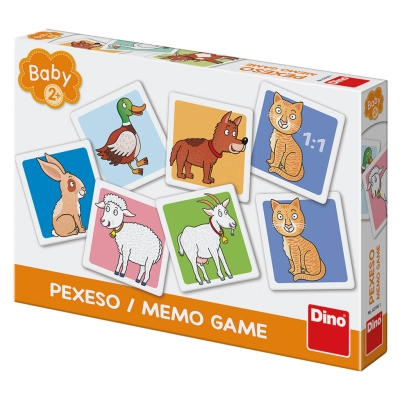 Pexeso baby domácí zvířata