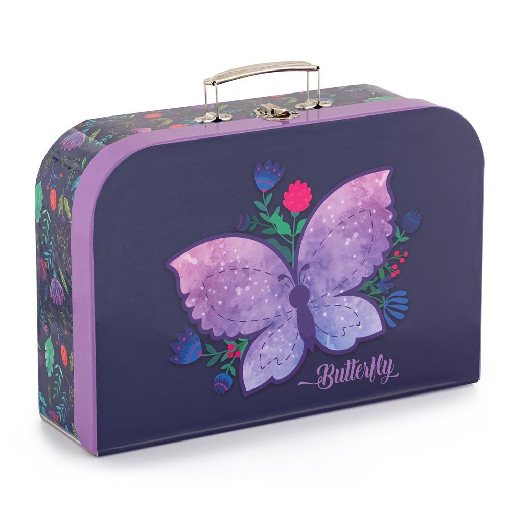 Kufřík lamino 35cm Motýlci
