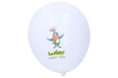 Balónek Wiky bílý