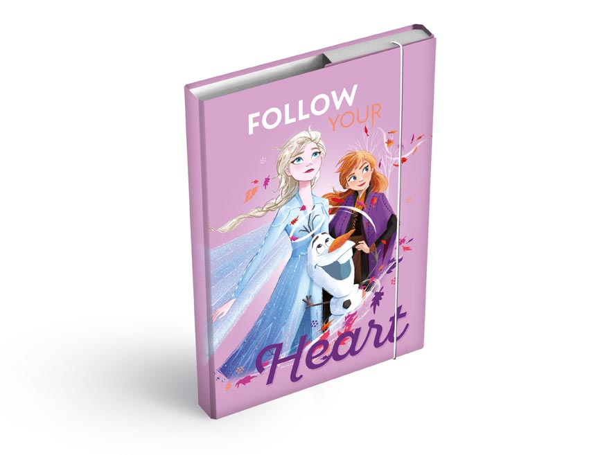 Desky na sešity MFP box A4 Disney (Frozen)