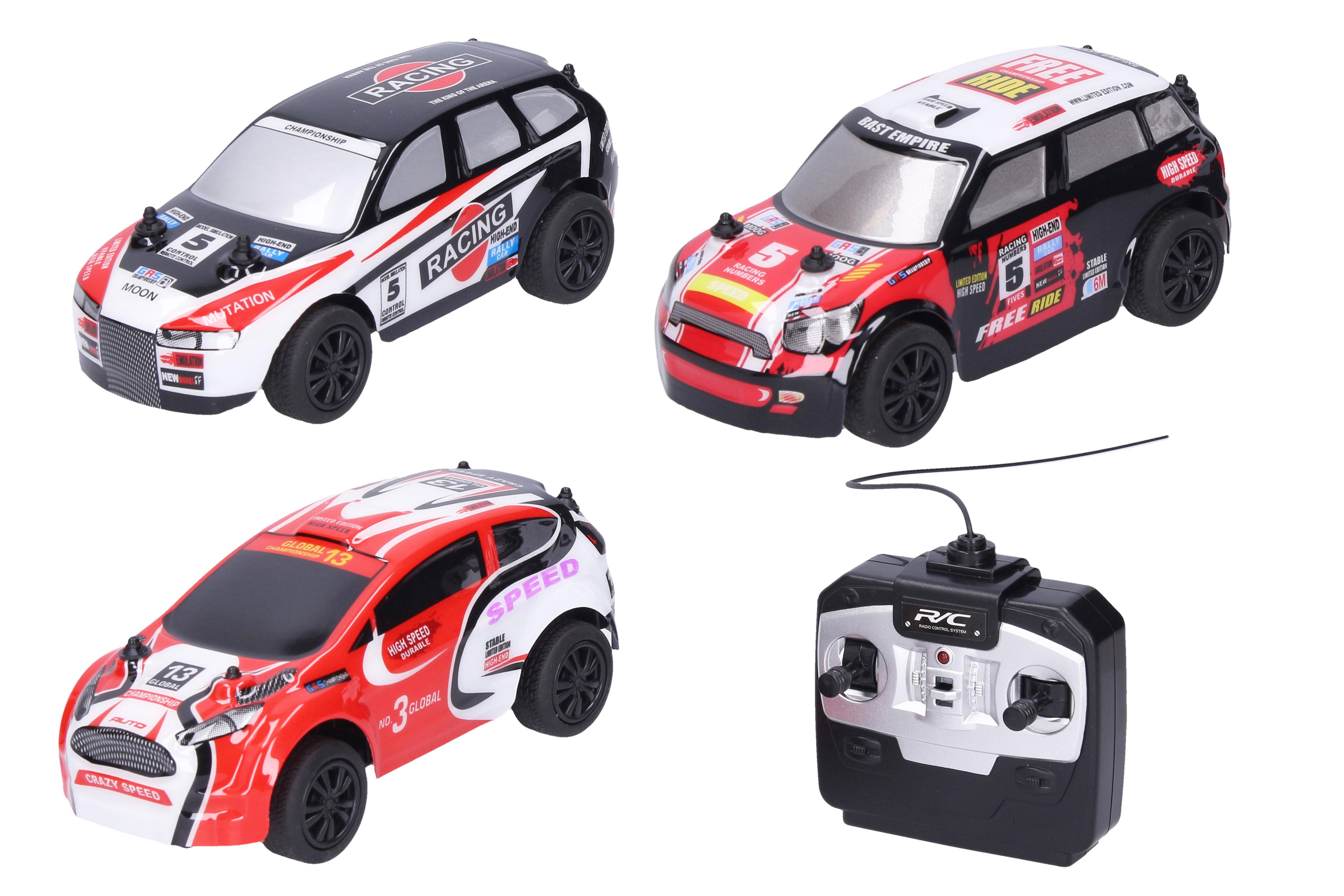 Auto Rally RC na dálkové ovládání 17 cm
