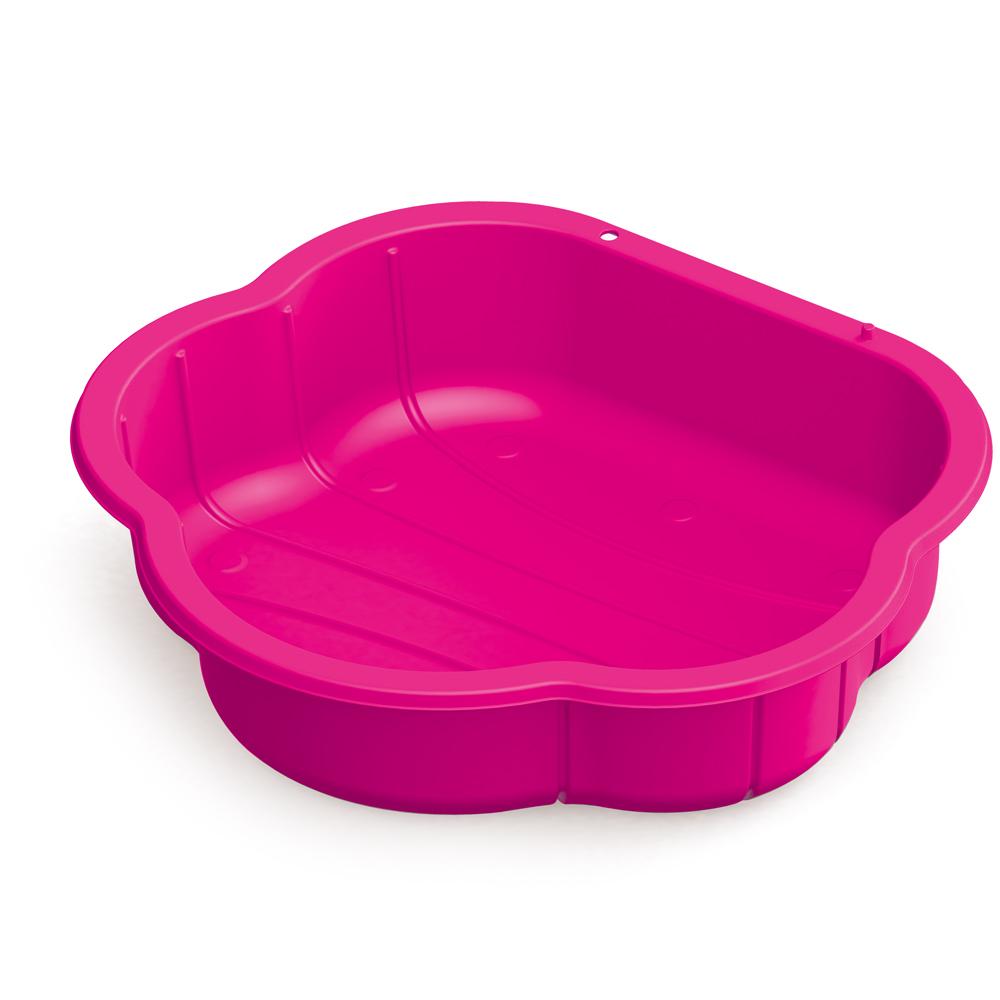 Pískoviště plastová mušle růžová