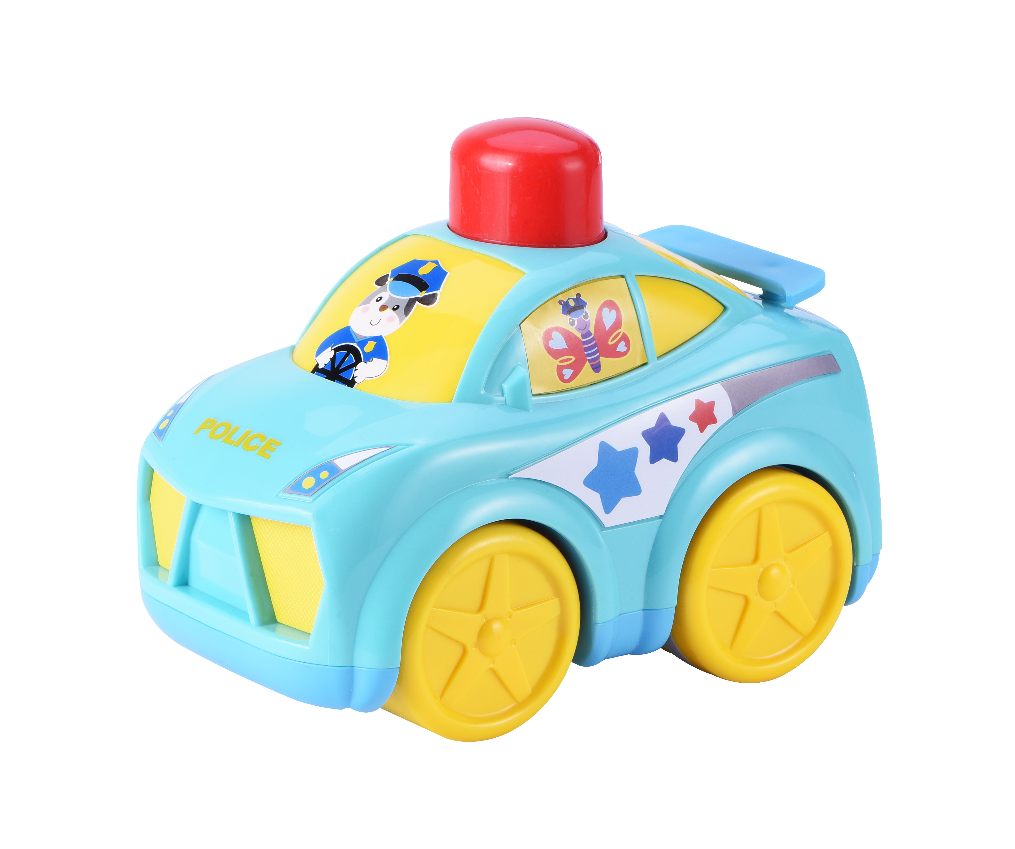 Policejní auto, na natažení