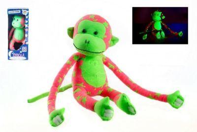 Opice svítící ve tmě plyš