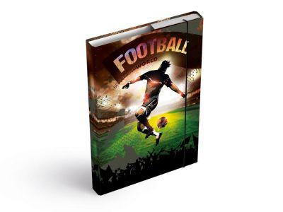 Desky na sešity MFP box A5 Fotbal