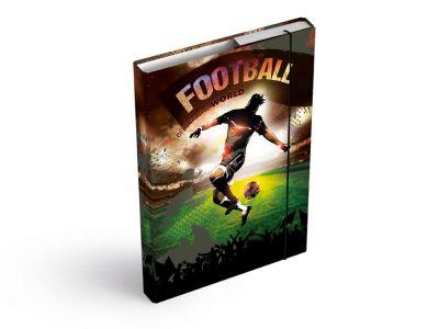 Desky na sešity MFP box A4 Fotbal